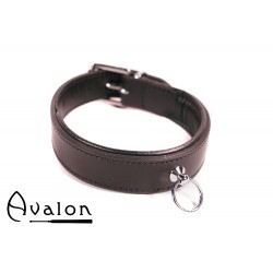 Avalon - DECLARE - Klassisk Collar med O-ring Svart