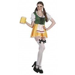 Oktoberfest antrekk grønn og gul