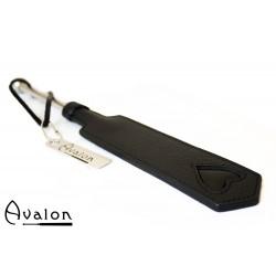 Avalon - ENCHANTRESS - Smal Paddle med Hjerte og Metallhåndtak - Svart