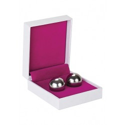 Shots - Ben Wa Balls Medium weight silver - vaginakuler