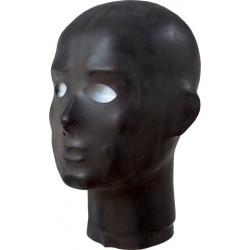 Anatomisk Maske i Latex, Svart