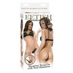 FF Series - Strapless Strap-On with Anal Stimulator