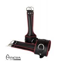 AVALON - LEVITATION - Suspension Cuffs - Sort og Rød