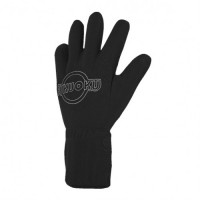 Fukuoku Five Finger - vibrerende massasje hanske Venstre M/L Sort