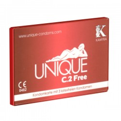 Unique - C.2 Free - Lateksfrie Kondomer