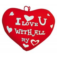 Valentines hjerte - I love u with all my heart