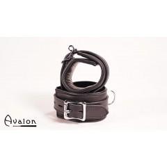Avalon - Håndcuffs i sort lær