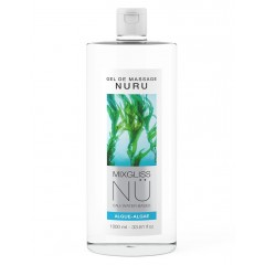 Nuru - Mixgliss Massasjegel - Algue-Algae - 1000 ml